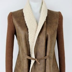 Sam Edelman Brown Jacket Size Small